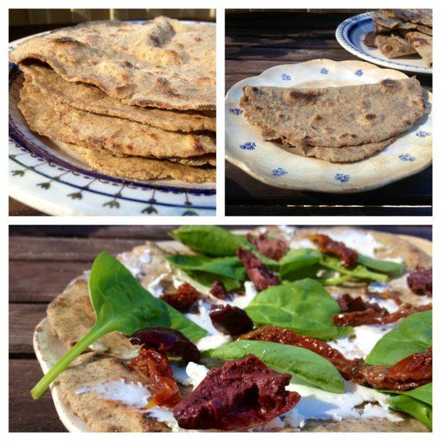 Buckwheat & Flaxseed Flatbread (#gluten-free, dairy-free, egg-free, yeast-free)