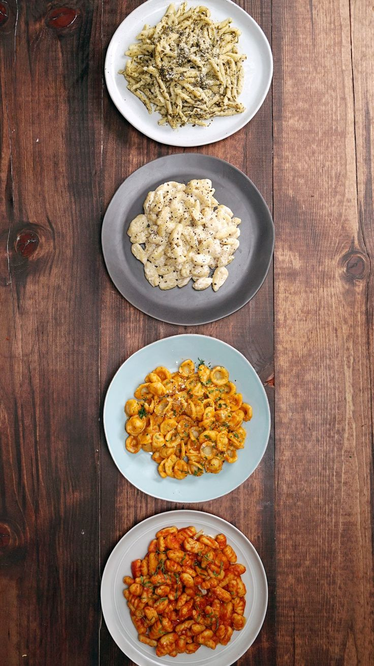 Basic Pasta - Shaping Pasta With 4 Common Kitchen Utensils ~ Recipe