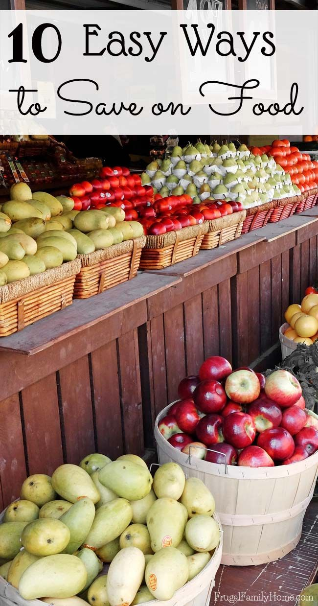 Keeping your grocery budget under control at times can be a challenge. If you need to trim your grocery budget, check out these great tips for saving money on food. Maybe your already doing #9? I know I do.