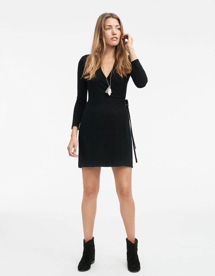 MIKA BLACK klänning svart