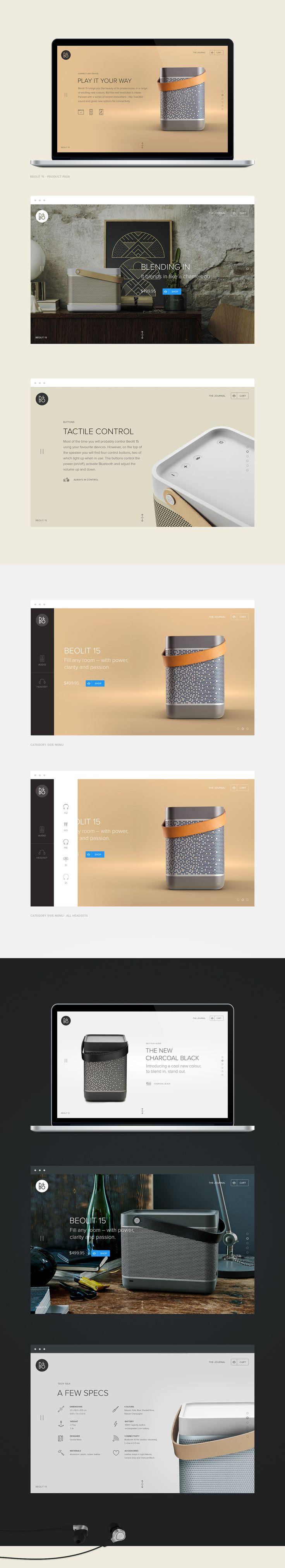B&O Play - Design for music on Behance