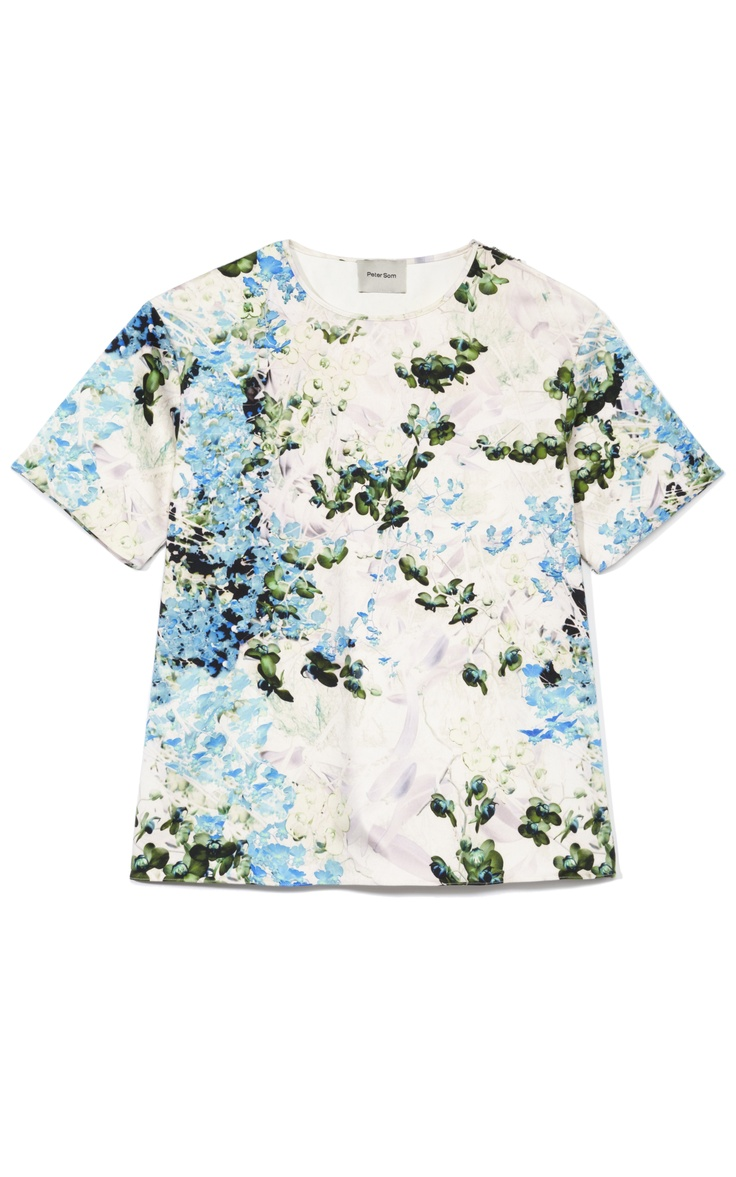 Shop Peter Som Wild Orchid Print on Stretch Canvas Top at Moda Operandi: Wild Orchids, Fashion Style, Peter O'Tool, Stretch Canvas, Orchids Prints, Peter As, Canvas Tops, Canvases, Som Wild