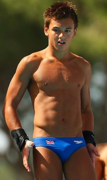 tom daley- even though he is not us, he's pretty cute