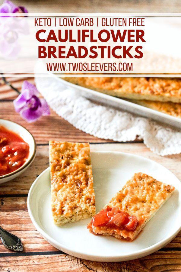Cauliflower Breadsticks Cauliflower Bread Sticks Cauliflower