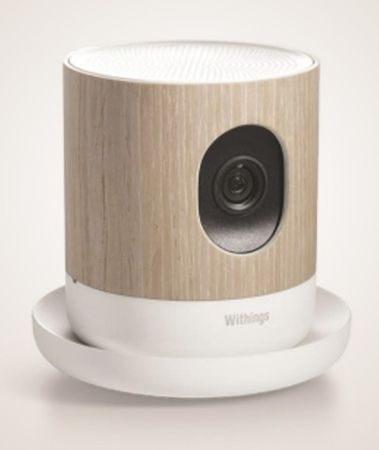 The Withings Home is a smart HD camera that monitors your indoor surroundings. Its super-sensitive sensors detect motion and noise and recognizes the presence of people; it will pick up on a tearful baby in a crib and send users an alert, but can differentiate those sobs from someone who's feeling down.