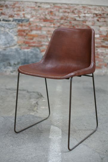 Leather Chair | Artilleriet | Inredning Göteborg http://solxluna.com/Collection.html