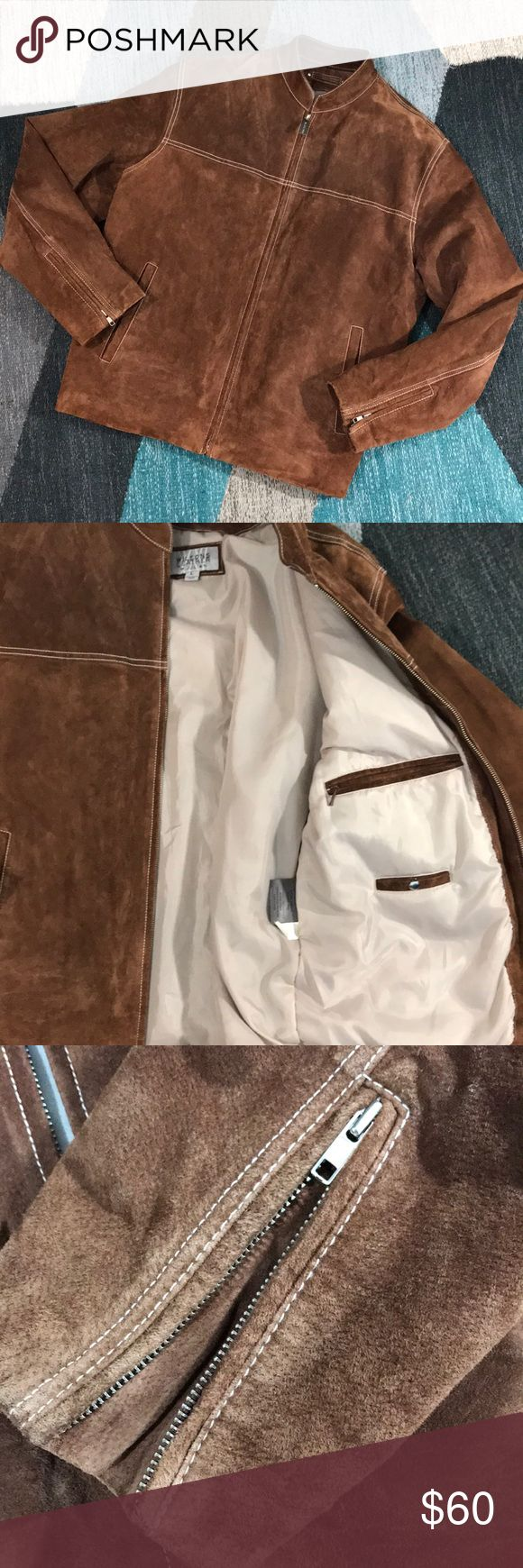 JUST IN! Wilsons Leather 100 Suede Men's Jacket