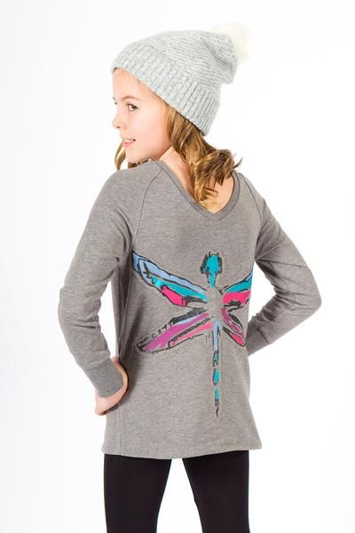 Ella Girls Sweat Top