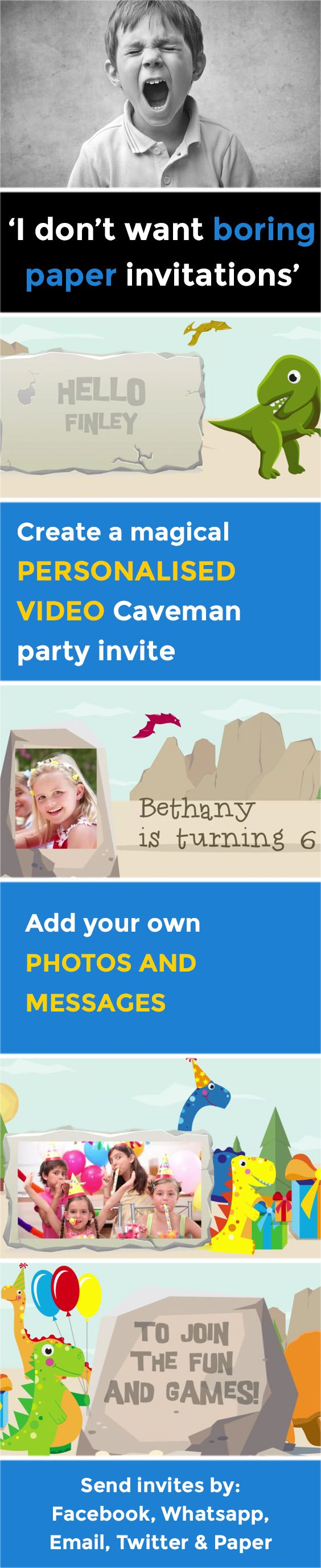 207 best Birthday Invites images – Personalised Birthday Invitations for Kids