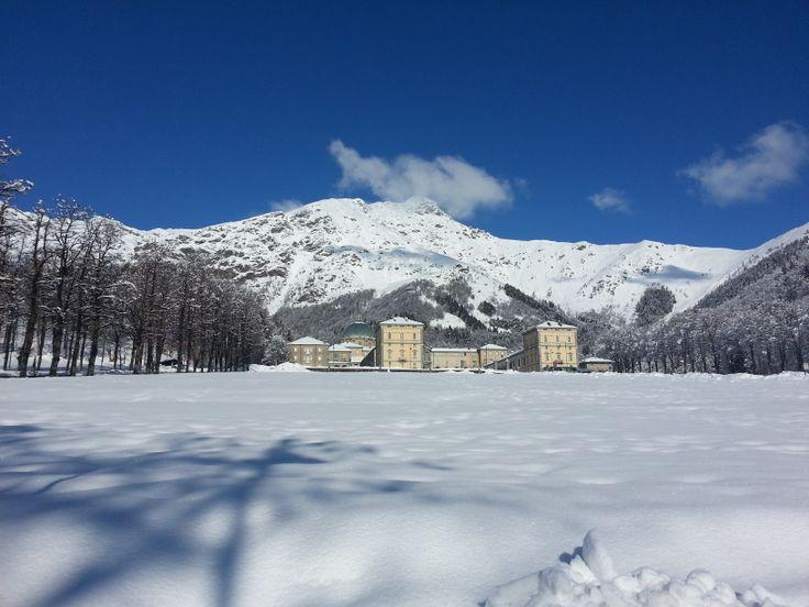 Il Santuario di Oropa dopo la nevicata! #neve #snow #oropa #church #chiesa #santuario