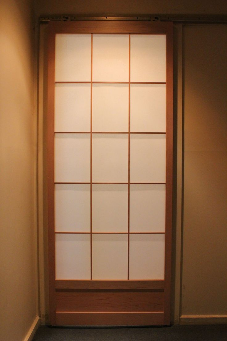 Shoji sliding door (2340mm high) by hisazendesigns on Etsy