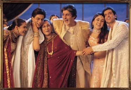 Kabhi Khushi Kabhi Gham (2001) Because of Kajol and Shah Rukh Khan :)