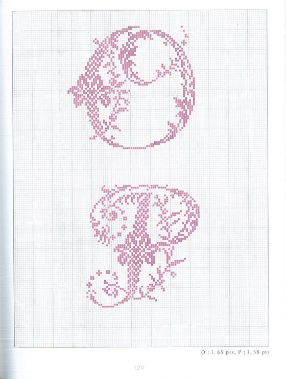 Gallery.ru / Фото #63 - belles lettres au point de croix - moimeme1
