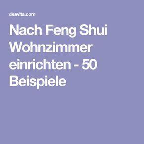 Elegant Nach Feng Shui Wohnzimmer einrichten Beispiele