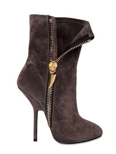 Giuseppe Zanotti 130mm Suede Zipped Boots on shopstyle.co.uk
