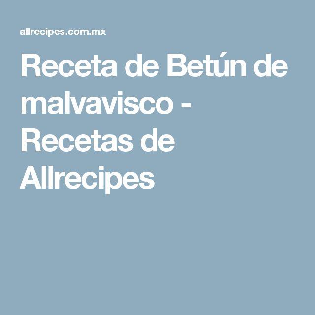Receta de Betún de malvavisco - Recetas de Allrecipes