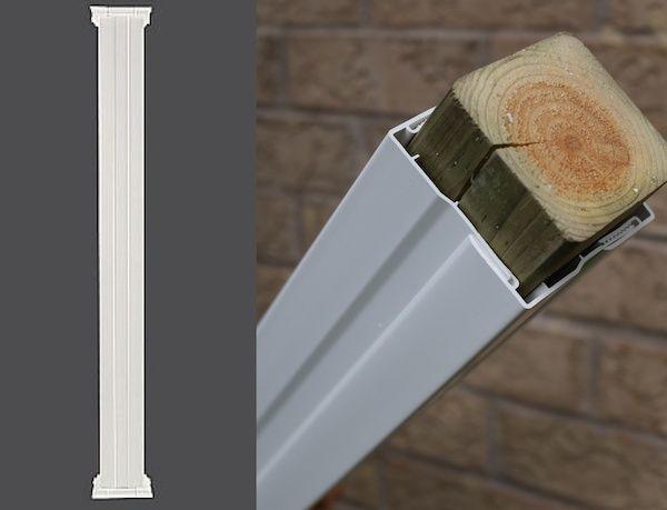 Nice PVC Column Wraps   Exterior Column Covers   Post Covers