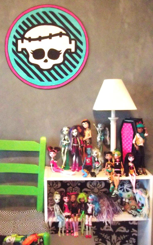 great monster high bedroom decor room ideas for your little monster