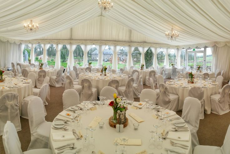 The Grand Marquee at Clonabreany House, Meath, Ireland