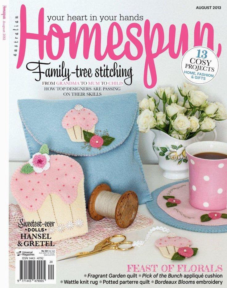 Australian Homespun's August 2013 issue