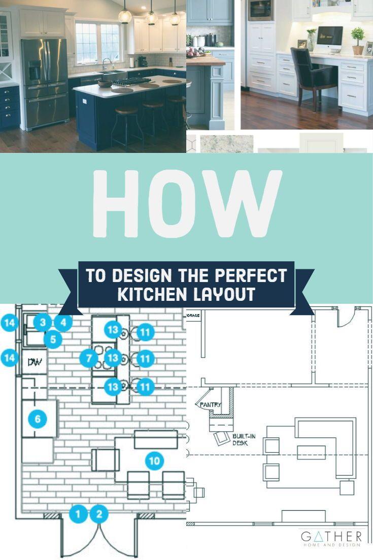 How to Design the Perfect Kitchen Layout   Kitchen layout, Kitchen ...