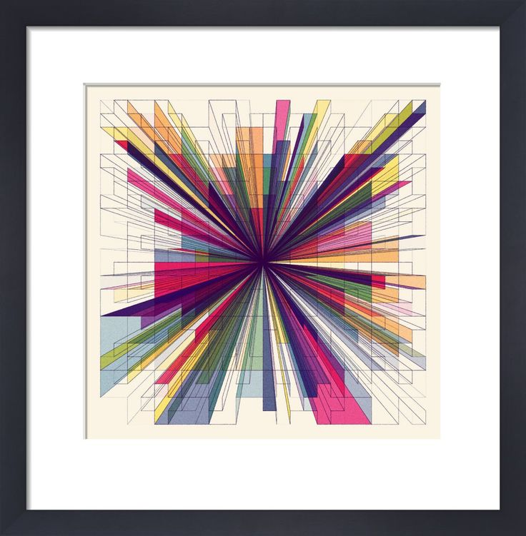 One Point Perspective Art Print by Simon C Page at King & McGaw