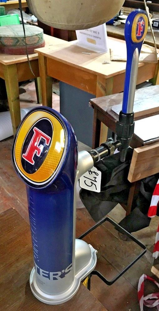 FOSTERS  BEER PUMP / TRADITIONAL / PUB / BAR / TAP / PINT / HOME BAR / COLLECTOR #Traditional