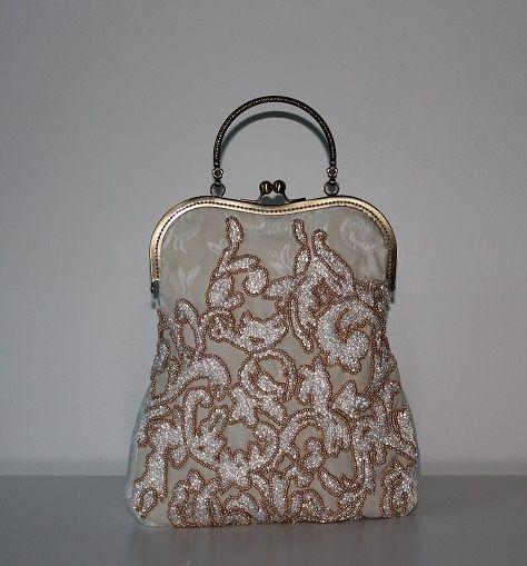 Wedding purse. Handamde by Renata Vespa.