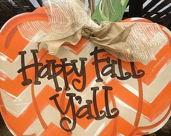 Fall In Love With Our Fall Leaf Door Hanger Available In