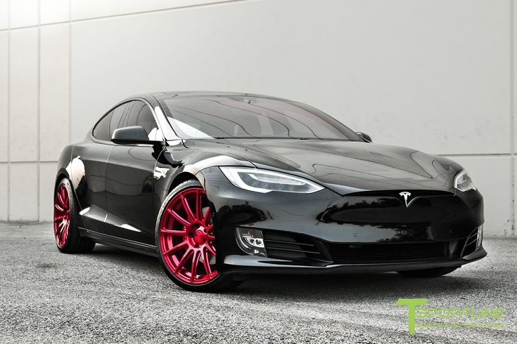 "21"" TS112 Forged Tesla Wheel and Tire Package – TSportline.com ..."
