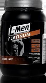 L-Men Platinum - Advanced Muscle Building Formula!