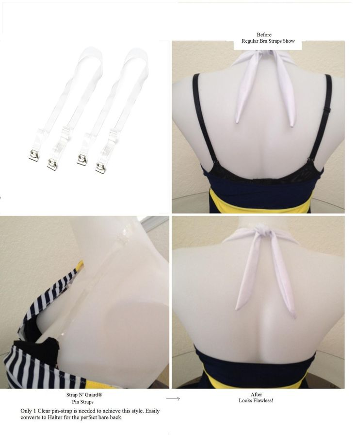 Replacement dress straps
