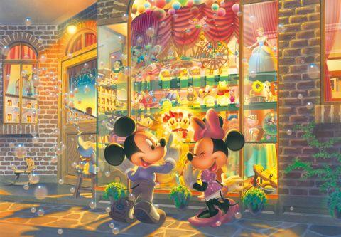 D-2000-538 Tenyo Disney Mickey Minnie Toy World Japan Jigsaw Puzzle