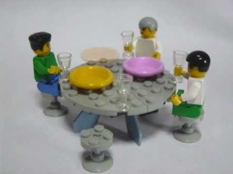 ▶ How to make Lego furniture 2 - YouTube