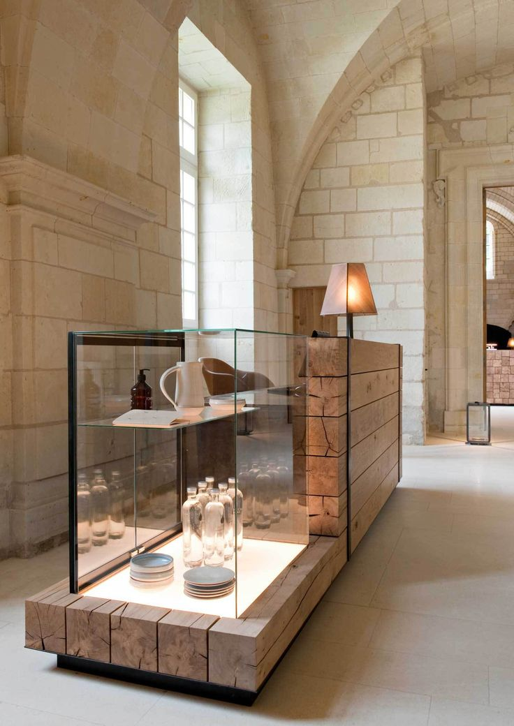 Abbaye de Fontevraud by Patrick Jouin | Yellowtrace