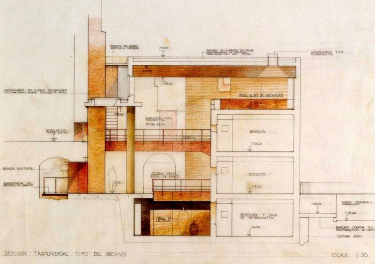 Archivo Municipal de Toledo.  Arquitecto: Ignacio Mendaro Corsini.