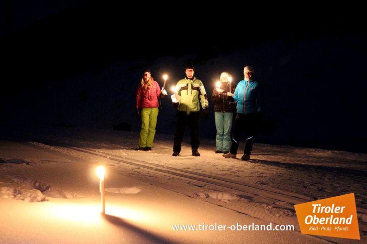 #Winterwanderung #Fackeln #tiroleroberland #Tschey