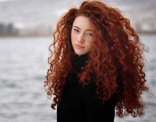 Hair Style Curly: Best 25+ Curly Red Hair Ideas On Pinterest