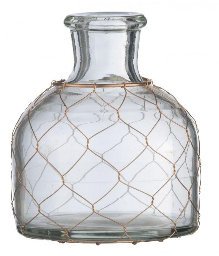 vase en verre madam stoltz vase rond corbeille en. Black Bedroom Furniture Sets. Home Design Ideas