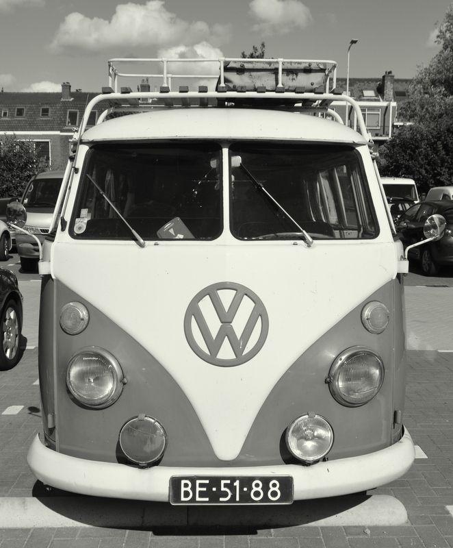 VW Van Beetle built in 1956