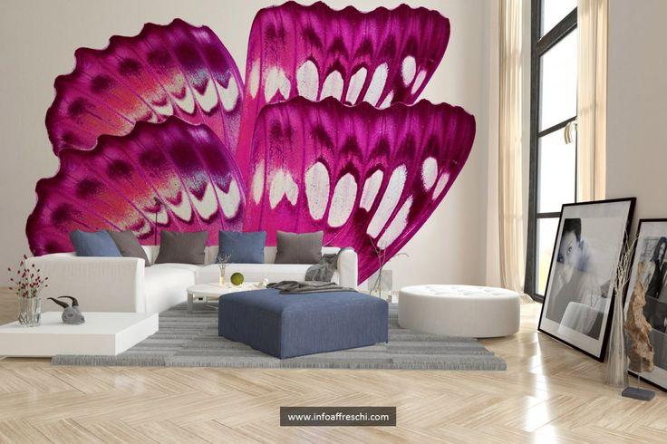 Beautiful fresco perfect for your living room.   #fresco #interiordesign #architecture #wallpaper #interiors #wallart #walldecor #mural #affreschi #frescoes #fresques #frescos #decoration #art #madeinitaly  @barvysanmarco @homeadore