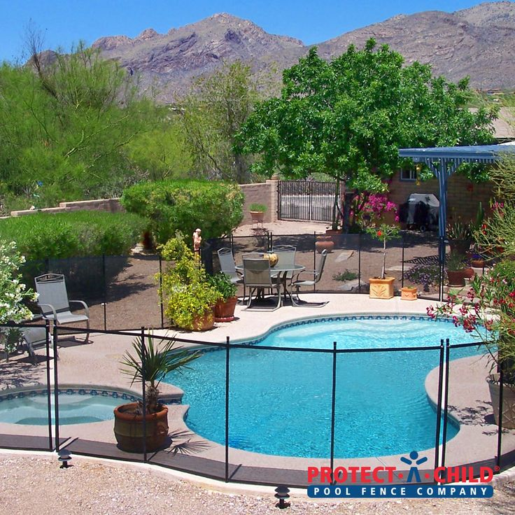 A Beautiful Backyard Oasis #pool And #spa For This Tucson Home Now Secured  With