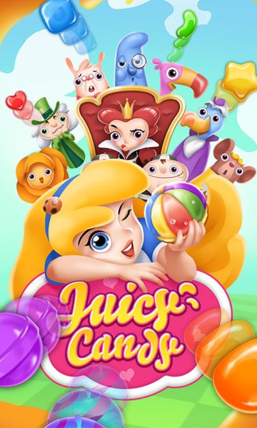Juicy Candy Blast v1.301 [Mod]   Juicy Candy Blast v1.301 [Mod]Requirements: 4.0.3Overview: Let's step in the fascinating Wonderland with Alice through her yummy candy journey.  Explore mysterious lands meet new friends and embark on an enchanting adventure. Download Juicy Candy Blast: Alice's sweet dream for free now and enjoy jam packed with tasty juice's flavor. Match 3 lining up candies of the same color to smash the candies. When forming a square candy butterflies will put a miracle in…