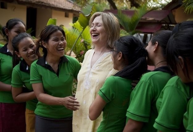 Cambodia | A Photo Of Hillary Clinton In Every Country She'sVisited