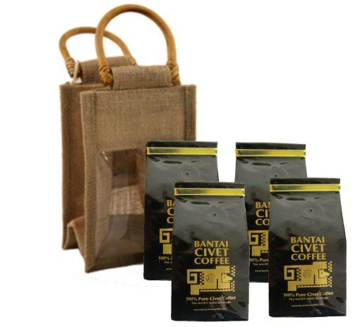 Quick and Easy Gift Ideas from the USA  Kopi Luwak 1lb / 456 Grams 100% Pure Wild & Orgranic Civet Coffee Medium Roasted Robusta Whole Beans http://welikedthis.com/kopi-luwak-1lb-456-grams-100-pure-wild-orgranic-civet-coffee-medium-roasted-robusta-whole-beans #gifts #giftideas #welikedthisusa