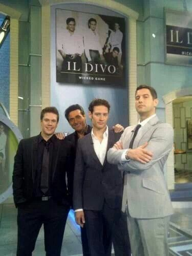 241 best images about il divo on pinterest fantasy - Il divo gruppo musicale ...