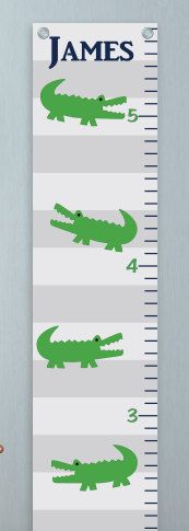 Growth Chart for Boys  Kids Room Wall Decor  by SouthSoundGraphics