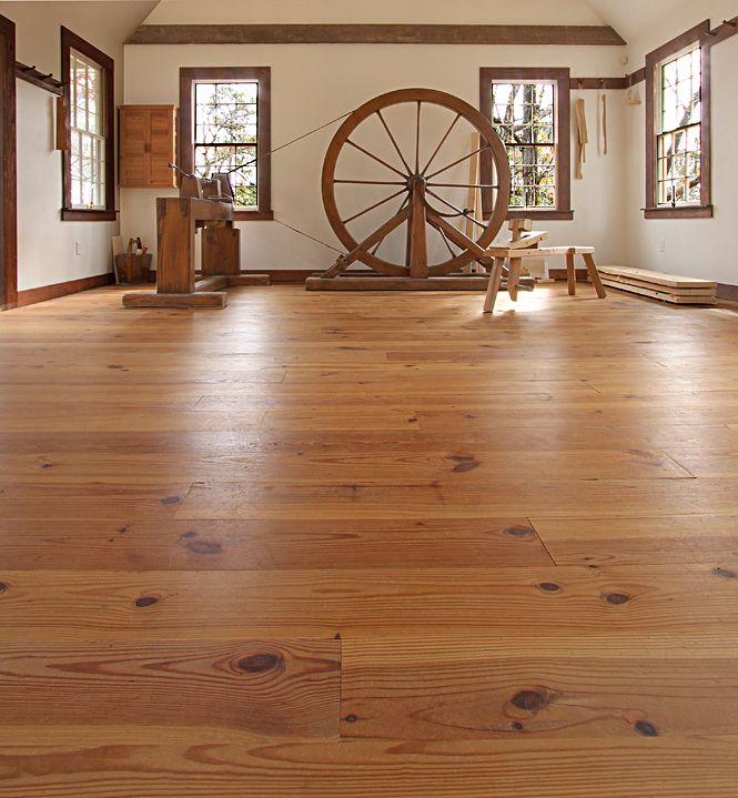 Southern New Heart Pine Flooring - Wood Floors Augusta w tung oil finish