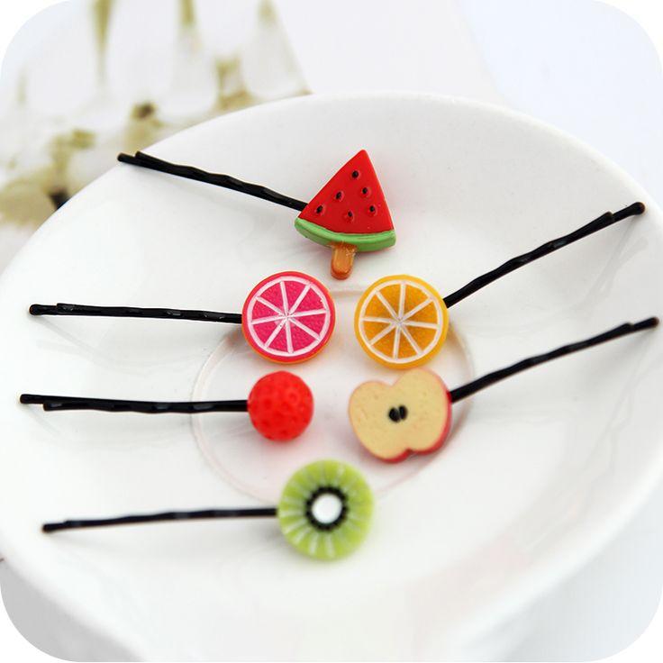 $0.99 Lovely Cherry Hair Rope Hair Clip Creative Design Hair Decoration - BornPrettyStore.com