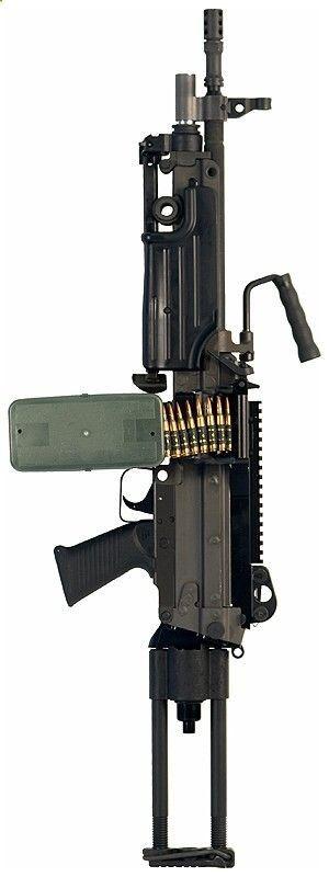 M249SAW Para - 5.56x45mm NATO | Guns for show | Pinterest | Guns, Weapons and Light Machine Gun